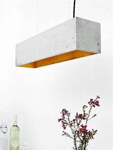 beton design berlin concrete hanging l b4 l gold minimalist