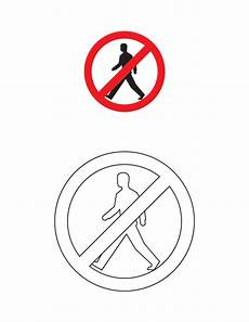 traffic sign coloring pages getcoloringpages