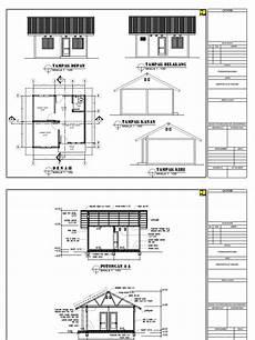 Contoh Denah Rumah Dengan Skala Desain Rumah