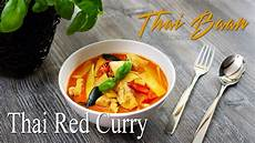 Rezept Rotes Thai Curry Thai Baan