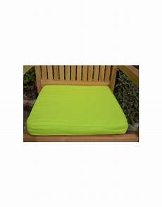 classic large garden seat pad cushion pack of 2 apple