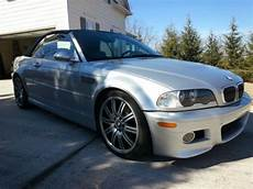 buy used 2002 bmw m3 convertible e46 6 speed manual silver