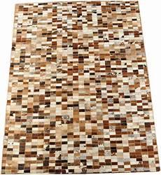 Kuhfell Teppich Patchwork - kuhfell teppich patchwork braun 203 x 149 cm