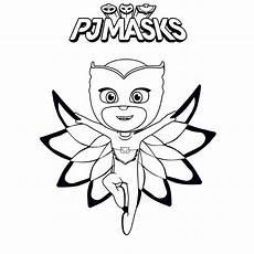 Pj Masks Malvorlagen Kostenlos Ausmalbilder Pj Masks Eulette Kinder Ausmalbilder