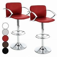 Tabouret De Bar Design Avec Accoudoirs Mag 5 Coloris Lot