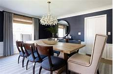 gray dining room with wainscoting design ideas