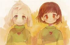 should i draw chara or asriel and which one undertale aus amino