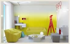 Farbverlauf Wand Streichen - colorfully behr new trend color gradients