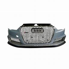 pare choc avant complet look rs3 audi a3 8v s3 8v