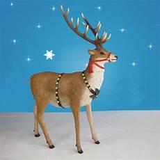120in wide santa sleigh two reindeer set