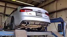 audi s4 b8 5 with modified awe exhaust youtube