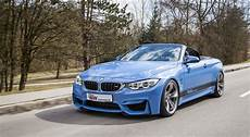 bmw m4 convertible sits prettier with kw coilovers