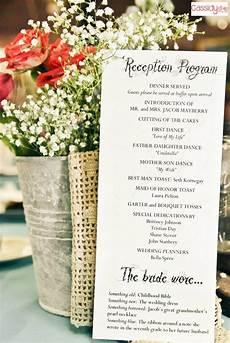 reception program with decorations reception ideas wedding reception schedule wedding