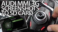 audi mmi 3g screenshots mode mr fix info
