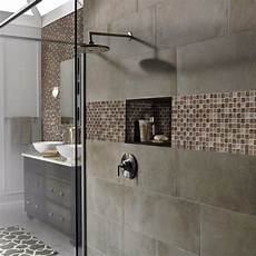5 Glass Tile Mosaics That Will Stand Up To Bathroom Dness