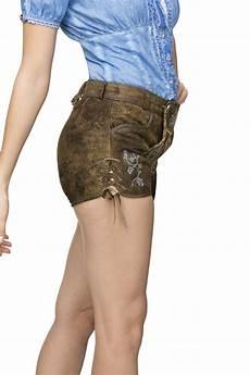 stockerpoint damen trachten lederhose kurz xenia bei