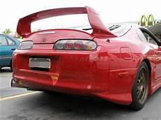 frp rear wing fit for 93 98 toyota supra mk4 trd rear