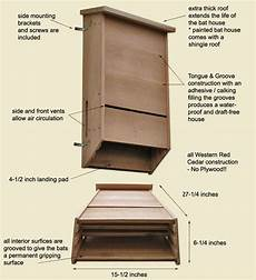 bat houses plans triple chambered bat house plans woodworking projects