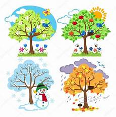 clipart inverno immagini clip inverno quattro stagioni alberi
