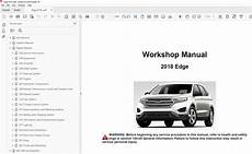 car engine manuals 2012 ford edge user handbook ford edge 2015 2018 factory repair manual