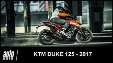 ktm duke 125 fiche technique 2017 ktm duke 125 essai auto moto