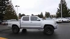 Silver Toyota Tacoma