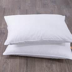 kissen set bett puredown white goose bed pillow set of 2 puredown