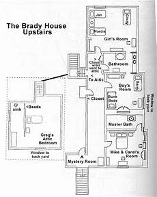 brady bunch house floor plan brady bunch house floor plans