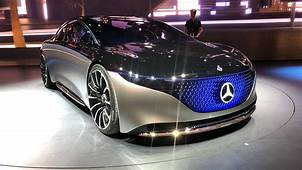 Mercedes Benz EQS Concept Paving The Way To An Electric S