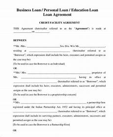 free printable loan agreement exles for your inspirations violeet