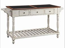 Stein World Accent Tables Kitchen Island With Stone Top