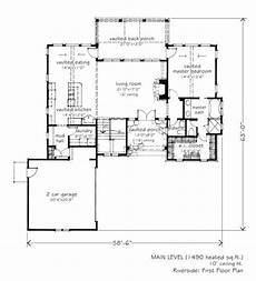 mitch ginn house plans 2 783 sq ft riverside l mitchell ginn associates
