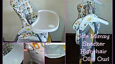 joie mimzy snacker highchair review