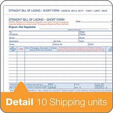 wholesale bill of lading short form abf9013 in bulk