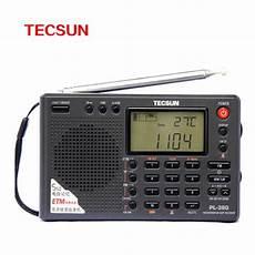 Portable Digital Band Radio Receiver by Original Tecsun Pl 380 World Band Stereo Radio