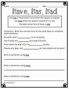 have has had worksheet english grammar worksheets english grammar teaching grammar