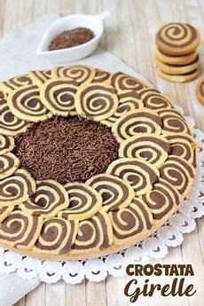 crostata al cioccolato fatto in casa da benedetta crostata di girelle bicolore con crema al cioccolato