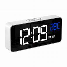 Alarm Clock Digital Snooze Touch by Led Digital Alarm Clock Battery Operated Touch Activated