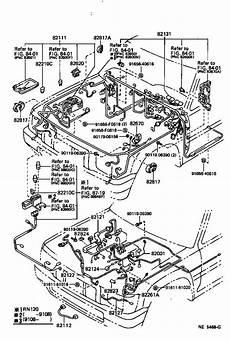 85 toyota 4runner efi wiring diagram 1995 toyota 4runner wire fusible link repair engine cl brackets 8299135020 genuine