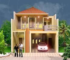 Gambar Desain Rumah Minimalis 2 Lantai Ukuran 5x10 Terbaru