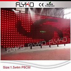 aliexpress com buy pitch8 led light curtain wall led