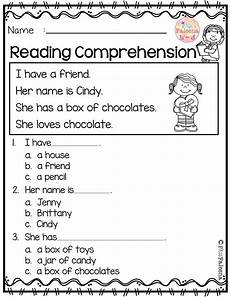 february reading comprehension reading worksheets