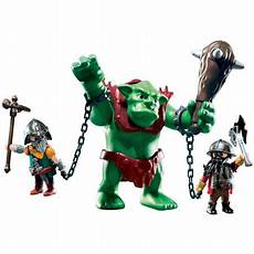 playmobil troll with fighters walmart