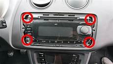 seat ibiza 6j radio radio ausbauen seat ibiza 6j wartungsanleitung