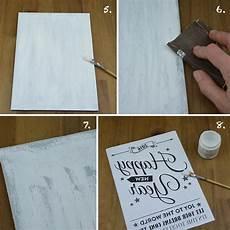 holzschilder selber machen h 252 bsche vintage schilder aus holz zum dekorieren oder