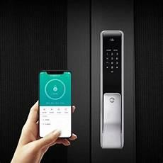 Xiaodi Smart Door Lock Slider Design by Xiaomi Youdian M2 Smart Automatic Fingerprint Sliding Lock