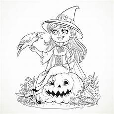 smiling witch and
