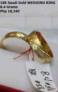 18k saudi gold wedding ring jewelry cavite city philippines christoewin