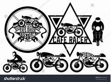 Cafe Racer Bike Logo cafe racer motorcycle logo symbol and design element