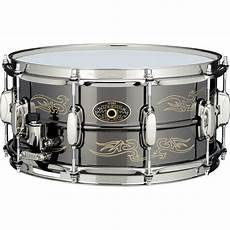 tama brass snare tama 5 quot x 14 quot kenny aronoff trackmaster signature brass snare drum ka145n